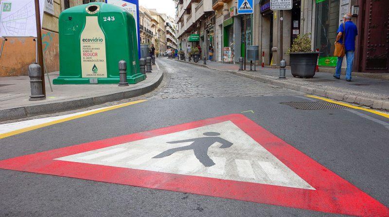 calle san antón peatonal granada